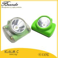 Buy cheap KL6-C led miners cap lamp 13000lux 13 working hours led mining cap lamps from wholesalers