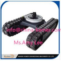 Quality rubber undercarriage/Rubber Track Undercarriage with Rotary Bearing for sale