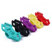 Wholesale Flexible Silicone Bike Handlebar Cellphone Mount Rubber Strap Holder for 4.5-6.0 Inch Phone in Five Bright Color from china suppliers