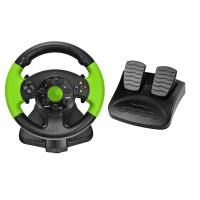 Quality PC / X-INPUT / PS3 / XBOX 360 All in One VIdeo Game Steering Wheel with Foot Pedal for sale