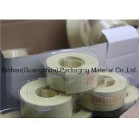 Wholesale Light Yellow Glass Fiber Garniture Tape For Tabocco / Cigarette Machine from china suppliers