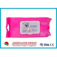 Wholesale Healthy Reusable Wet Wipes Tissues / Eco Friendly Organic Wet Wipes from china suppliers