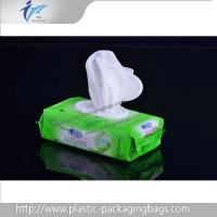 Wholesale Eco Friendly PET / NY / PE Wet Wipe Packaging Bag Green / Blue from china suppliers