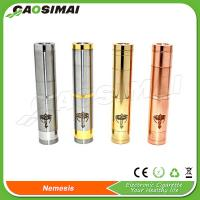 Wholesale 2014 personal vaporizer stainless and copper nemesis mechanical mod from china suppliers