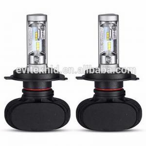 Wholesale Fanless 50W S1 Car LED Headlight Bulbs / H4 9003 LED Auto Headlight Kits from china suppliers
