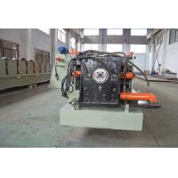 Wholesale Customized Half Square Gutter Roll Forming Machine  Fully Automatic Control By Panasonic PLC from china suppliers