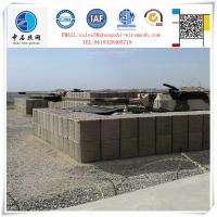 Concertainer Hesco Bastion with Geotextile cloth inside