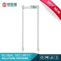Wholesale High Sensitivity Multi Zone Door Frame Metal Detector Walk Through With PC Network Function from china suppliers