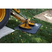 Quality anti-slip crane outrigger pad crane foot support plate hdpe portable crane mat for sale