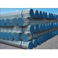 Wholesale BS 1387 ASTM A53 Hot Dip Galvanized Steel Pipe , Welded Round Erw Steel Tube For Line Pipe from china suppliers
