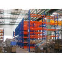 Wholesale Blue Red Mobile Storage Racks Q235B Custom Pallet Electric Mobile Shelving from china suppliers