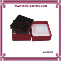 Wholesale Wine Red Matt Embossed Luxury Watch Paper Box/Jewelry Gift Watch Paper Box with Foam ME-TB007 from china suppliers