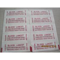 Wholesale Stainless steel blood lancet from china suppliers