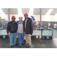 Rail guided machinery equipment transport