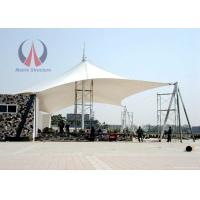 Wholesale Center Support Outdoor Sun Sail Shades Cable - Stayed Large Scale Flame Retardant from china suppliers