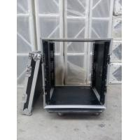 Wholesale Solid 9mm Thickness Plywood Black 10 Amplifier Rack Flight Case from china suppliers