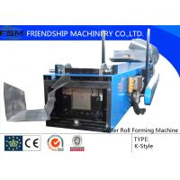 Wholesale Round / K-type / Box Gutter Roll Forming Machine For Water Pipe from china suppliers