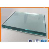 Wholesale Smooth / Flat Surface Clear Float Glass 19mm Thickness With Good Vision from china suppliers