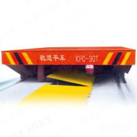 Wholesale High Frequency Sliding Wire Powered Low Platform Rail Trailer from china suppliers