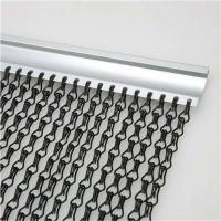 Wholesale 2.0 MM Thickness Non-fading Hanging Chain Link Aluminium Fly Screen With Dimension 90x210 CM from china suppliers