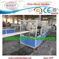 Wholesale Squar Plastic PVC Pipe Extrusion Line Twin Screw Extruder from china suppliers