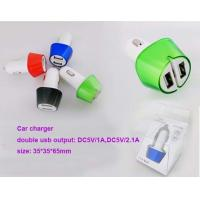 Wholesale Dual usb car charger adapter, car charger with two usb port, usb car adapter from china suppliers
