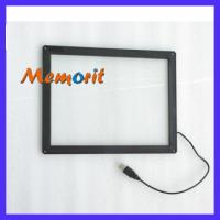 Buy cheap 15 Inch Vandal Proof Infrared Planar Touch Screen For LCD Monitor For Indoor/Outdoor Kiosk from wholesalers