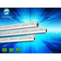 Wholesale Aluminium LED Rigid Light Strips , LED Rigid Bar 5050 72LED / M 14.4W White Frost Cover from china suppliers