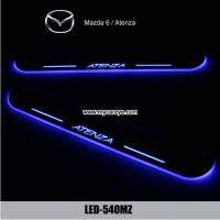 Wholesale Mazda Atenza 6 Water proof Welcome pedal auto lights sill door pedal from china suppliers