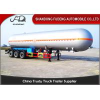 Wholesale 40 / 50 / 60 CBM LPG Tank Trailer Leaf Spring Suspension Carbon Steel Material from china suppliers