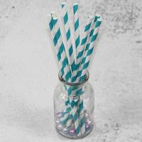 Quality 10mm 12mm width purple red color bamboo paper drinking straws fancy straws for for sale