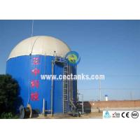 Quality Anti - Adhesion Glass Fused To Steel Water Tanks For Potable Sludge / Bulk Storage for sale