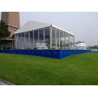 Wholesale High Quality Waterproof 10x15m Mobile Wedding Party Glass Wall Tents In China from china suppliers