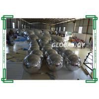 Wholesale Giant Glossy PVC Advertising Air Balloons , Customized Mirror Balloons from china suppliers