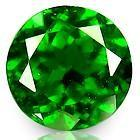 Wholesale Round 8 mm AAA Chrome Green Diopside Normal With Normal Faceted Cut from china suppliers