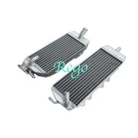 Wholesale 1 Year Warranty Motorcycle Racing Small Aluminium Radiator For 2006 Kawasaki KX250F from china suppliers