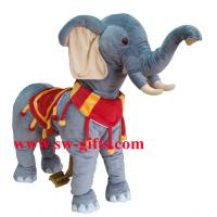 Wholesale Amusement Park Equipment Electric Arcade Coin Operated Plush Stuffed Walking Animal Music from china suppliers