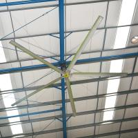 Buy cheap Big Wind Reduce Moisture HVLS Ceiling Fans Efficient Operation 18 Inch from wholesalers