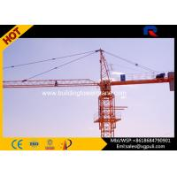 Wholesale 5T Hydraulic Hammerhead Building Tower Crane 320m Rope Length For Construction from china suppliers