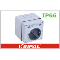 Wholesale 250V 500V 32 Amp Weatherproof Switch Socket 3 Pole Rotary Switch from china suppliers