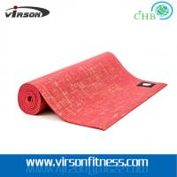 Wholesale Virson Custom lable logo jute yoga mat/jute yoga matt from china suppliers