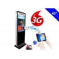 Wholesale Indoor 3G Digital Signage Wifi Free Standing Kiosk LCD Advertising Screen from china suppliers
