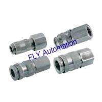 Wholesale 35 Bar Threaded Legris 9214 Metal Galvanized Pneumatic Tube Fittings from china suppliers