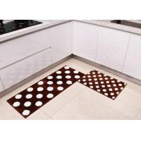 Wholesale Square Anti-slip Washable Home Microfiber Kitchen Mats of tufting process from china suppliers