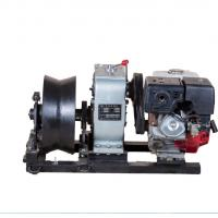 Wholesale 50KN Power Construction Gas Engine Powered Winch , 5 Ton Threading Machine from china suppliers