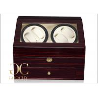 Wholesale Five Best Watch Winder 4 Watches Wound 6 Watches Storage 1 Drawer Jewels from china suppliers