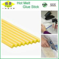 Wholesale Full Yellow Color Hot Melt Glue Sticks For Glue Gun Plastic Glue Sticks from china suppliers