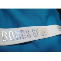 Quality Real Leather Custom Clothing Patches , Silk Screen Heat Transfer Label Printing for sale
