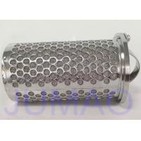 Wholesale 316 Stainless Steel Mesh Basket Filter Element For Industrial Liquid Filteration from china suppliers