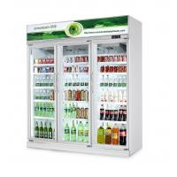 China Commercial Fresh Vegetable Upright Beverage Cooler Air Cooling R134a on sale